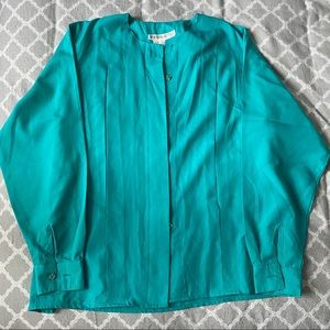 Tops - 🌿 Turquoise Blouse